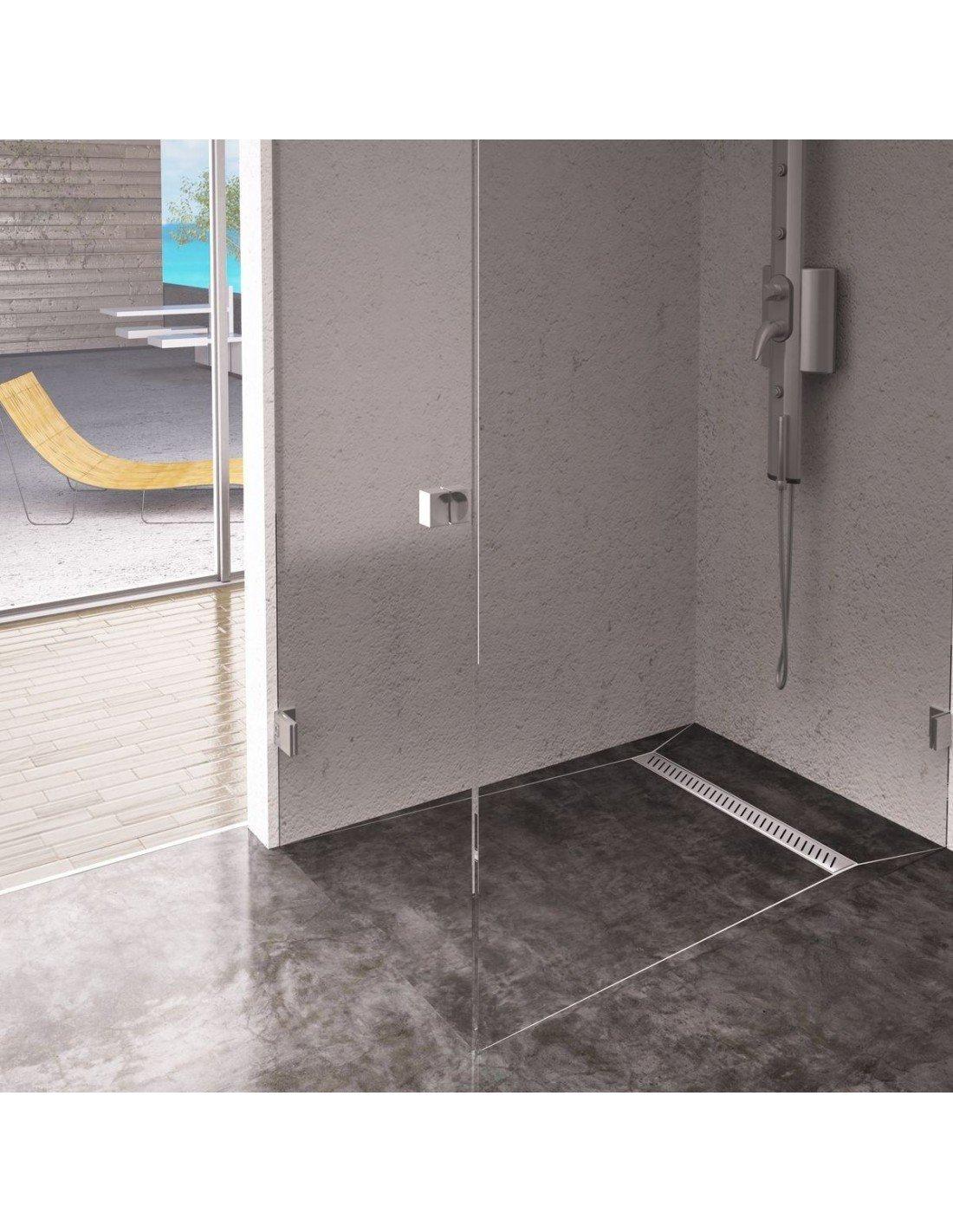 Wet Room Gully Stainless Steel Linear Shower Drain 600 Mm
