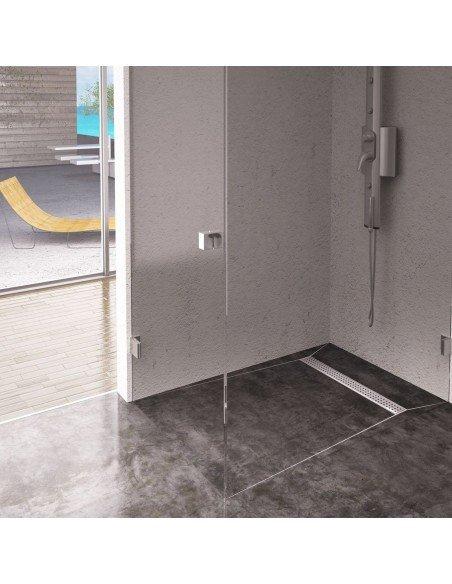 Linear drain Wiper 800 mm Premium Slim Sirocco