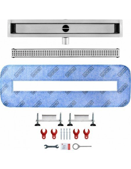 Linear drain Wiper 1100 mm Premium Slim Sirocco