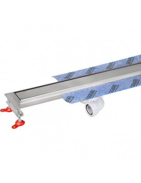 Linear drain Wiper 1000 mm Premium Ponente