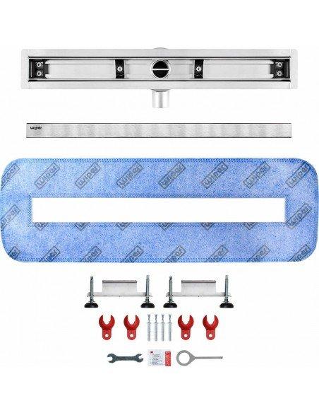 Linear drain Wiper 500 mm Elite Ponente