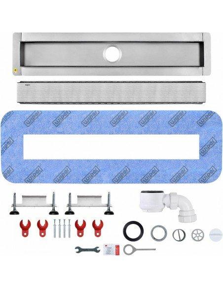 Linear drain Wiper 800 mm Premium Ponente