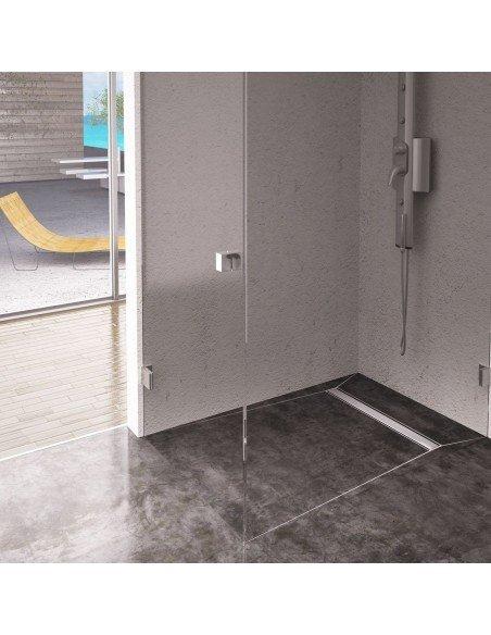 Linear drain Wiper 500 mm Premium Ponente