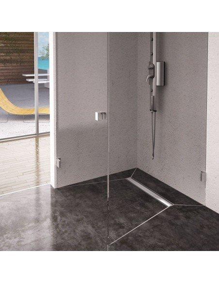 Linear drain Wiper 1100 mm Premium Ponente