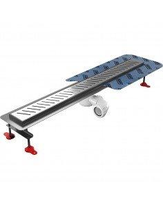 Linear drain Wiper 600 mm Premium Zonda