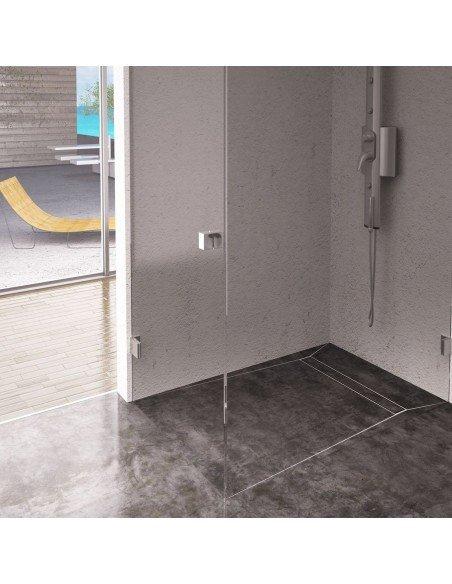 Linear drain Wiper 600 mm Invisible Slim