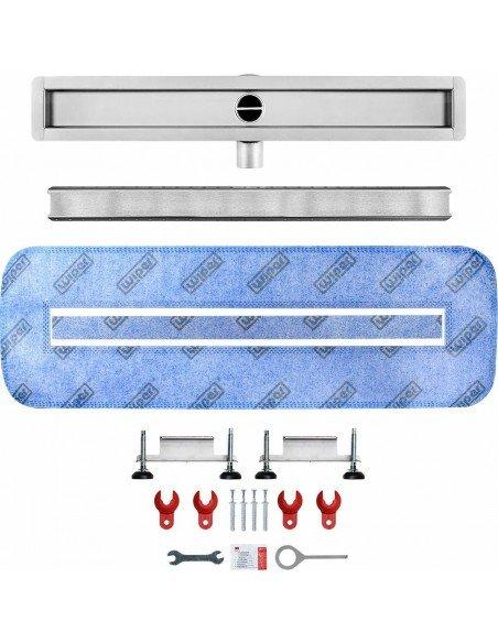 Linear drain Wiper 1100 mm Invisible Slim