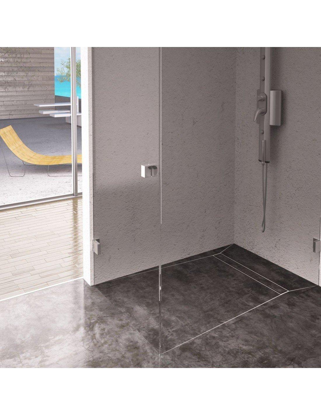 Square Drain 100 X 100 Premium Pure Wet Rooms Design