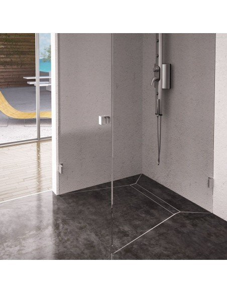 Showerlay Wiper 800 x 800 mm Line Pure