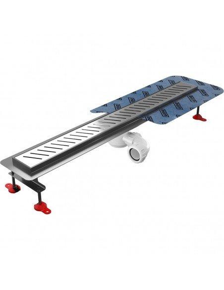 Linear drain Wiper 1200 mm Premium Zonda