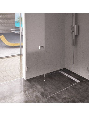 Linear drain Wiper 600 mm Classic Ponente