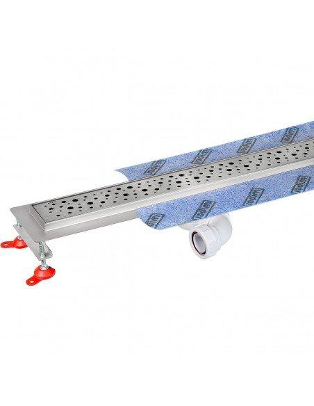Linear drain Wiper 600 mm Premium Mistral