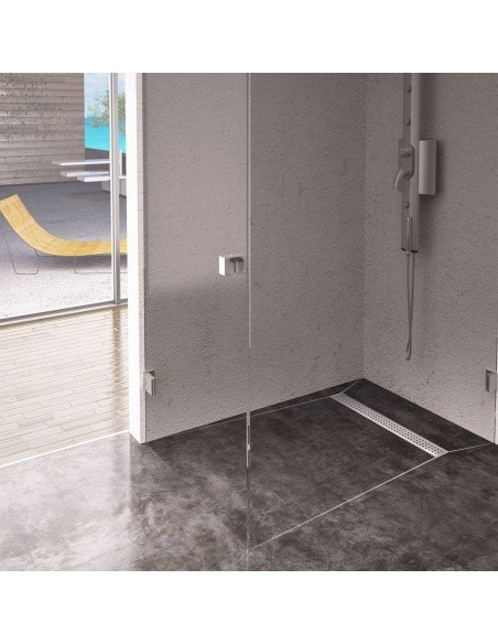Showerlay Wiper 900 x 1500 mm Line Sirocco
