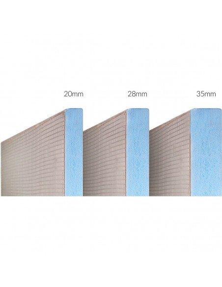 Showerlay Wiper 900 x 1700 mm Line Sirocco