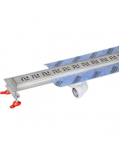 Linear drain Wiper 1000 mm Premium Tivano