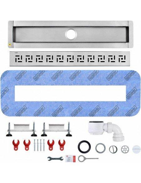 Linear drain Wiper 900 mm Premium Tivano
