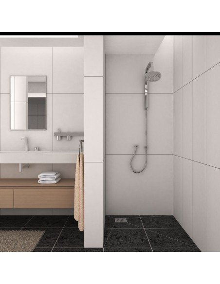 Showerlay Wiper 1200 x 1200 mm Point Sirocco