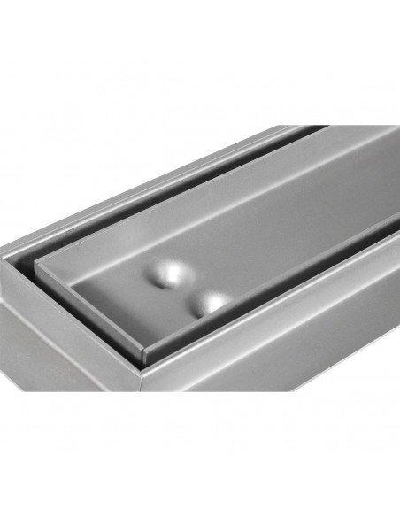 Linear drain Sieme 1000 mm Stone
