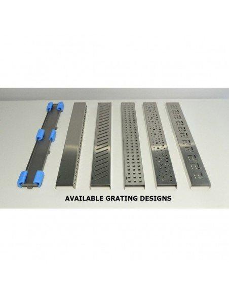 Linear drain Wiper 500 mm Classic Ponente
