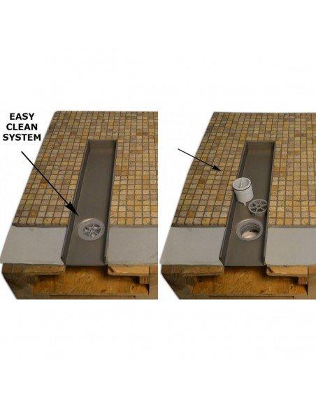 Linear drain Wiper 1200 mm Classic Ponente