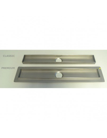 Linear drain Wiper 600 mm Classic Sirocco