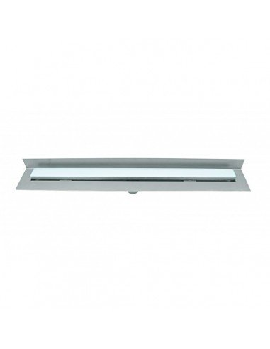 Linear drain Wedi 800 mm Riolita Optima Blue Glass