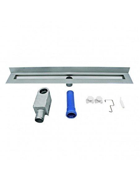 Linear drain Wedi 700 mm Riolita Optima Blue Glass