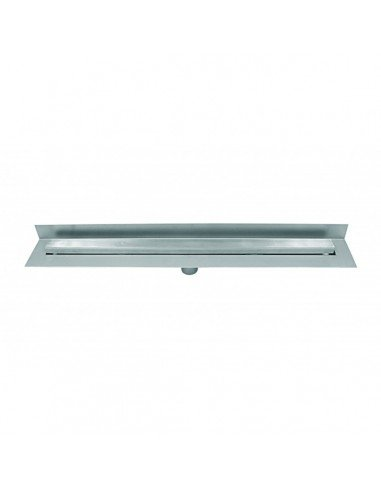 Linear drain Wedi 1000 mm Riolita Optima Stainless Steel