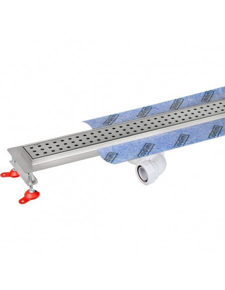 Linear drain Wiper 600 mm Premium Sirocco