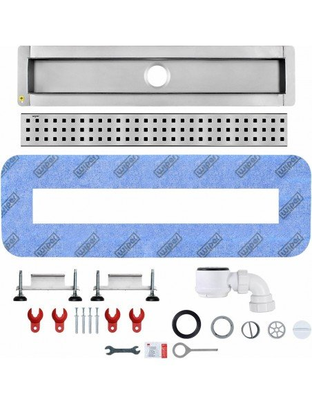 Linear drain Wiper 600 mm Premium Sirocco