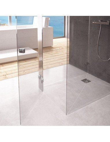 Wet Room Kit 900 x 1850 mm Line Ponente