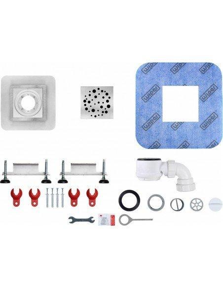 Square gully Wiper WP100 Premium Mistral