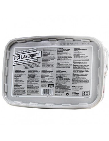 Liquid coating PCI Lastogum 4 kg Grey