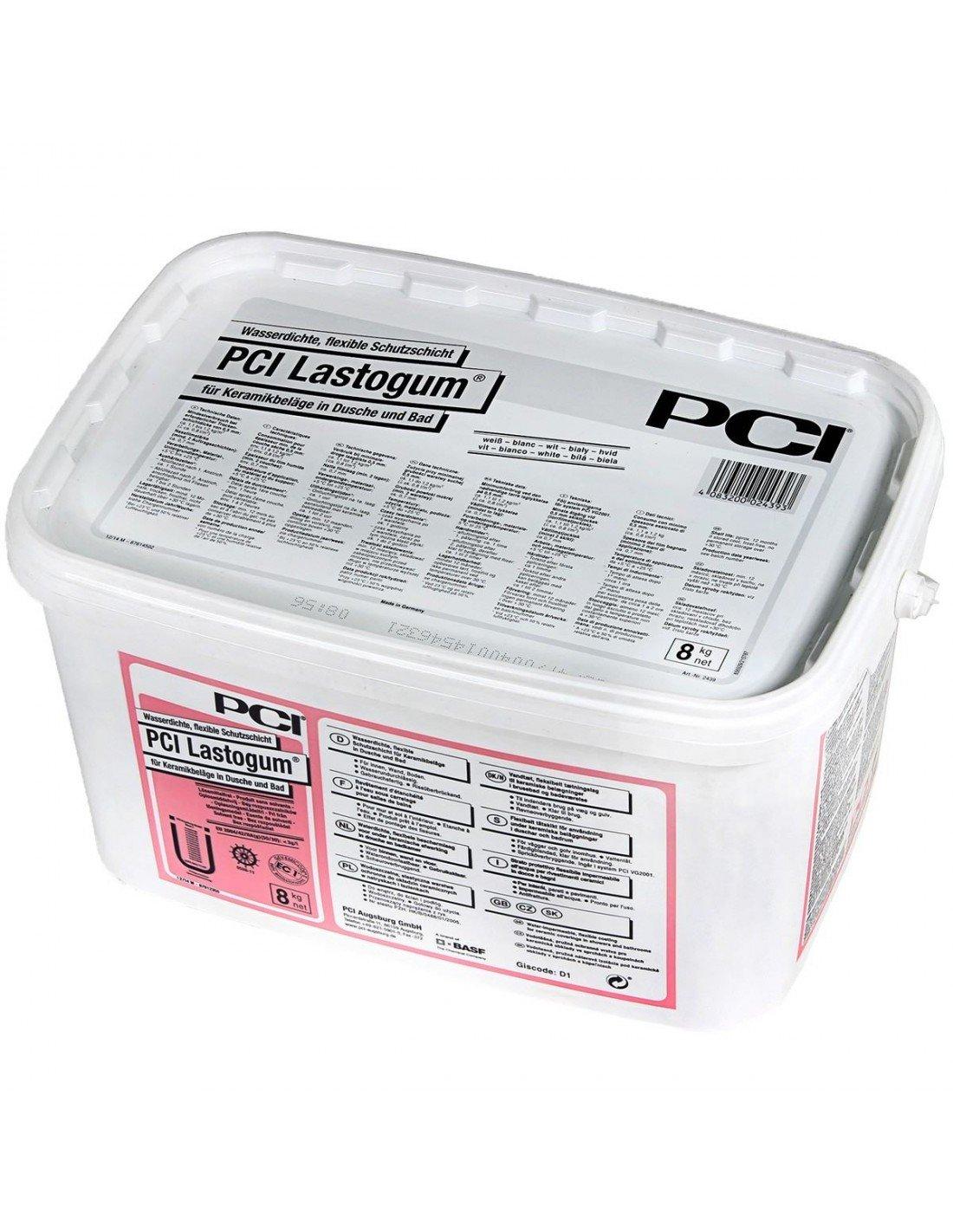 Tanking Liquid Pci Lastogum 8kg White Wet Rooms Design