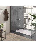 Wet Room Kit 900 x 1850 mm Sirocco Line
