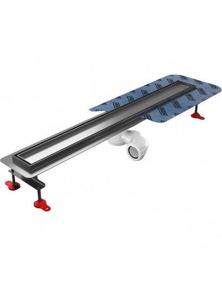 Linear drain Wiper 500 mm Premium Pure