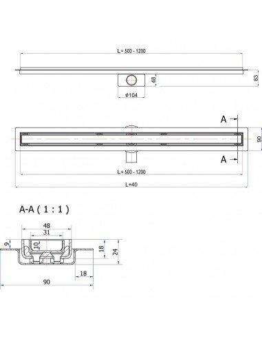 Imperboard Tile backer board 600 x 1200 x 6 mm