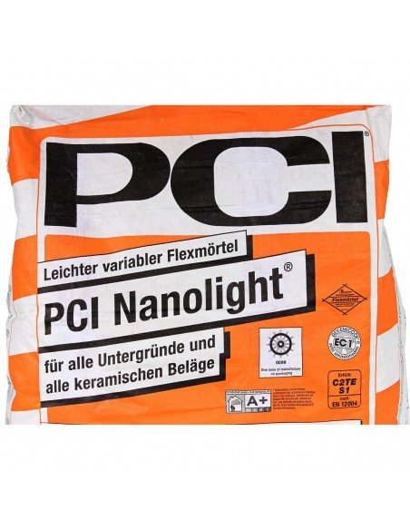 Flexible tile adhesive PCI Nanolight® 15 kg