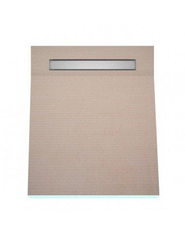 OneWay Fall Showerlay Wiper 800 x 1500 mm Line Pure
