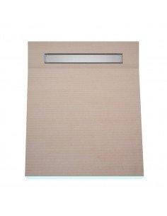 OneWay Fall Showerlay Wiper 900 x 1200 mm Line Pure