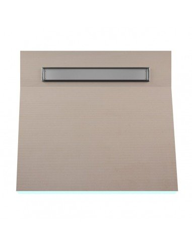 OneWay Fall Showerlay Wiper 800 x 800 mm Line Pure