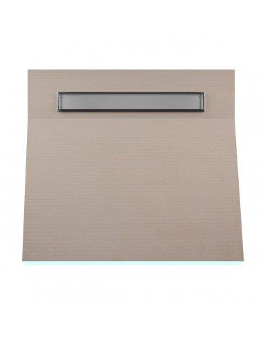 OneWay Fall Showerlay Wiper 1000 x 1000 mm Line Pure