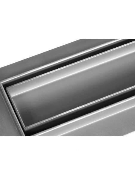 Linear drain Wiper 1100 mm Premium Slim Pure