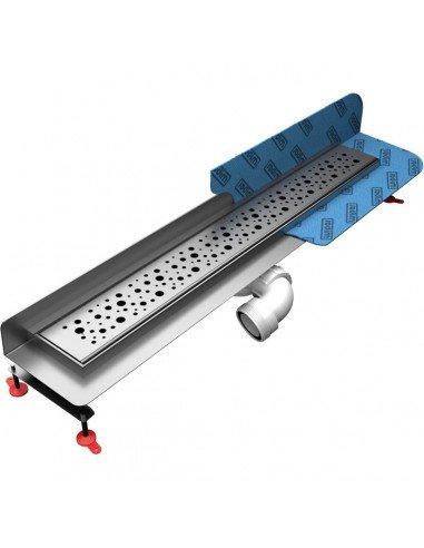 Linear drain Wiper 900 mm Wall Upstand Mistral