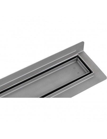 Linear drain Wiper 1000 mm Wall Upstand Pure