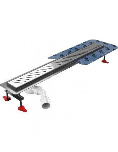 Linear drain Wiper 500 mm Premium Offset Zonda