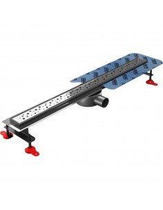 Linear drain Wiper 600 mm Premium Slim Mistral
