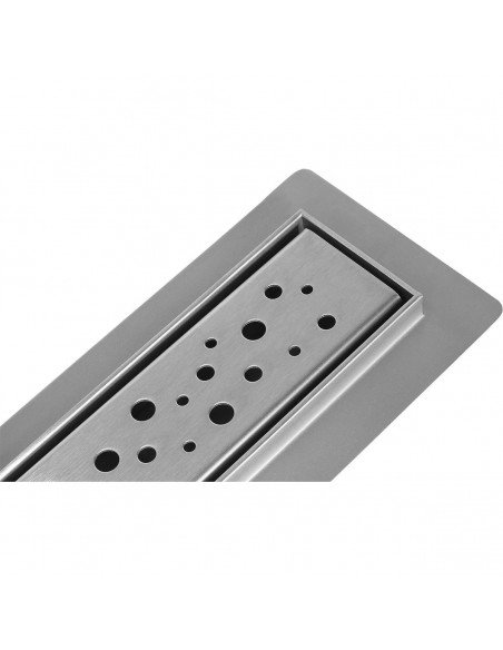 Linear drain Wiper 600 mm Premium Slim Mistral