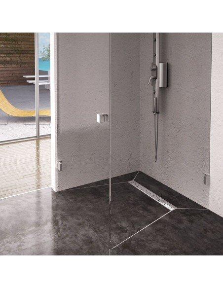 Linear drain Wiper 500 mm Premium Slim Mistral