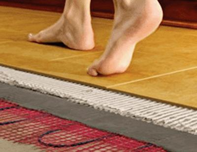 Electric Underfloor Heating System | Wetrooms Design